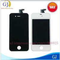 FOR iPhone 4 LCD,4G LCD with Digitizer, Display+Touch Screen Glass +Frame,10 PCS/Lot,EMS or DHL Free Shipping,Brand New