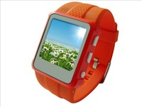 "New!!! 1.5""TFT MP4 Watches Built in 4G ebook for exam .it is good Wrist watch mp4 watch"