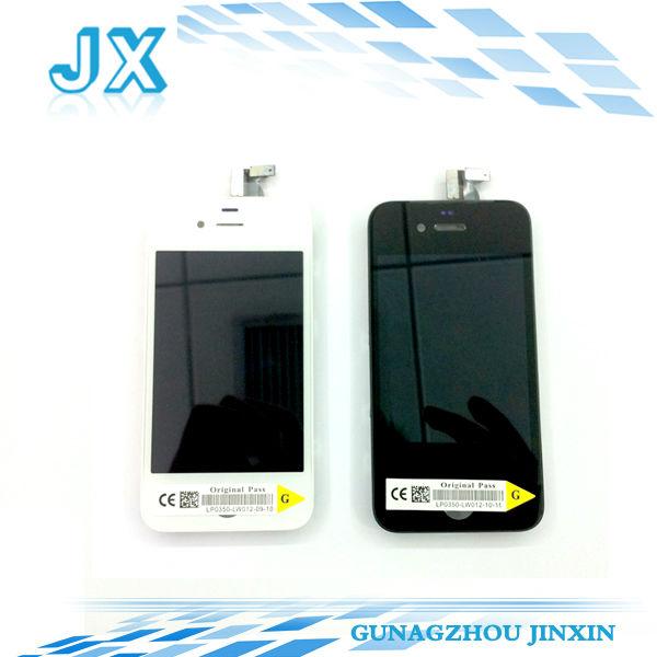 20pcs/lot oem spedizione gratis sostituzione dello schermo lcd per iphone 4 lcd digitalizzatore