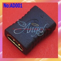 Wholesale High Quality Mini HDMI Female to HDMI Female Converter adapter # AD001