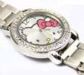 Dropship!Wholesale 5pcs Hello Kitty Stainless Steel Watch Woman Children Fashion watches Free shipping kid watch