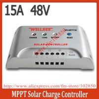 48V,15A MPPT solar charge controller,solar panel charger regulator for off grid system