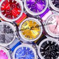 63pcs/lot,new design silicone watch,fashion wrist watch wholesale,14colors & silicone watch strap,DHL/UPS/EMS free shipping