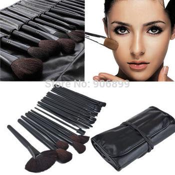 32pcs Makeup Brushes Professional Facial Kit Make up Brush Styling Tools Set Leather Case Maquillaje Pincel Maquiagem