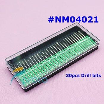 """Professional 30PCS/set Drill Bits Kits Acrylic Nails Nail Drill Set Shank 3/32"""" Manicure and Pedicure Nail Tools SKU:E0086"""