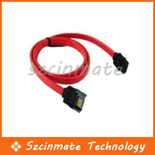 SATA Male to SATA Extension Cable 200pcs/lot Wholesale(China (Mainland))