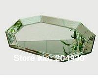 MR-301001 octagonal mirrored goblet holder for home decoration