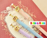 New type cute crown ball pen / Fashion lady Style pen / Promotion / Wholesale