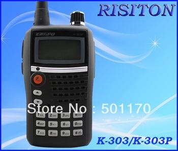 KINGPO K-303/K-303P handheld radio walkie talkie FM radio
