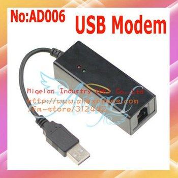 10pcs/lot USB Fax Modem 56K Data Fax Voice USB Modem V.92 V.90 Dial Up Conexant for xp vista win7+ Free shipping  #AD006
