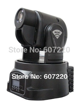 LED Mini moving head spot light 15W stage lighting power 50W multi-color change DMX controller