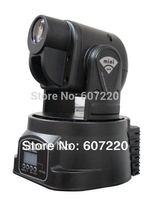 LED Mini moving head spot light 15W stage lighting power 50W multi-color change DMX controller