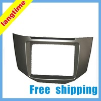 Free shipping-Car refitting DVD frame,DVD panel,Dash Kit,Fascia for 03-10 Lexus RX300, RX350,RX400,05 Toyota Harrier ,2DIN