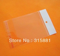 3x17cm hanging hole poly bags,Opp bags, 1000pcs/lot
