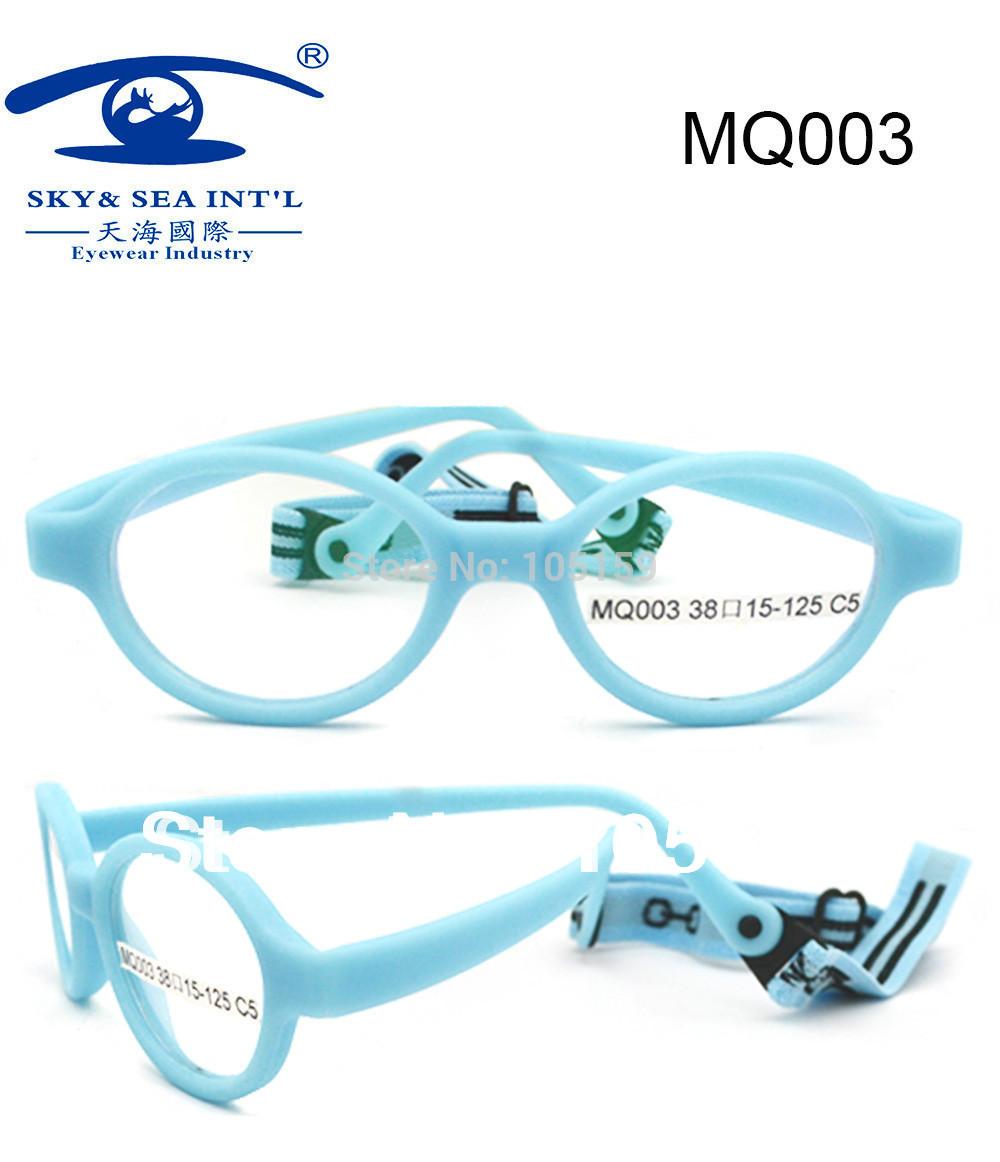 Free Shipping Fiber Children's Eyeglasses Frame SAFE, FLEXIBLE ,UNBREAKABLE FRAMES Brand Designer Cheapest No Hinge Screwless(China (Mainland))