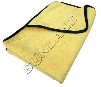 3PCS 360gsm 40cmx60cm  Plush Microfiber Two Different Sides Car Care Towel Auto Cleaning Detailing Waxing Polishing Cloths