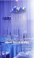 Free shipment /10PCS/lots /acrylic crystal wedding centerpiece/80cm tall/30cm diameter