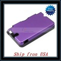 Free Shipping + 20pcs/lot Metal Hard Cover Aluminum For Nintendo Ndsi Dsi Xl LL Purple Ship from USA-V00200