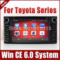 Head Unit Car DVD Playerfor Toyota Yaris Vios Tundra Highlander with GPS Navigation Radio TV BT USB SD AUX 3G Auto Audio Video