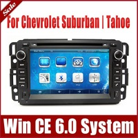 "7"" In Dash Car DVD Player for Chevrolet / Chevy Suburban / Tahoe with GPS Navigation Rdio Bluetooth TV Map USB SD AUX 3G CAN Bus"