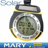 Solar electronic altimeter,altitude meter,mountaineering meter,Outdoor essential