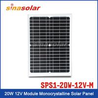 Special Price 20W 12V Module Monocrystalline Solar Panel
