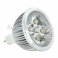 4 LEDs DC 12V 4W MR16 LED tube spotlight lamp, Energy-saving lamps,400 Lumens Low carbon,  free ship 20pcs