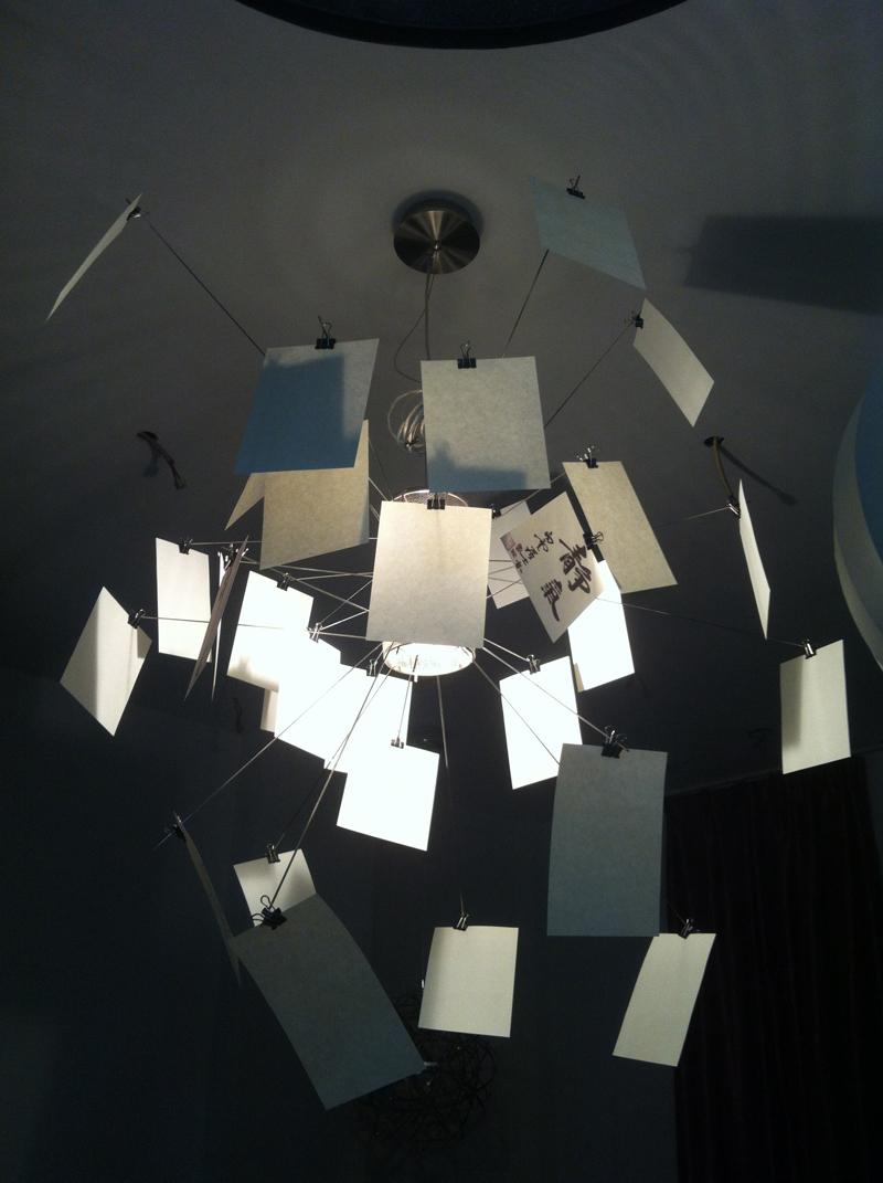 best sellers ingo maurer zettel 39 z 5 chandelier zettelz 6 chandelier postcard chandelier free. Black Bedroom Furniture Sets. Home Design Ideas