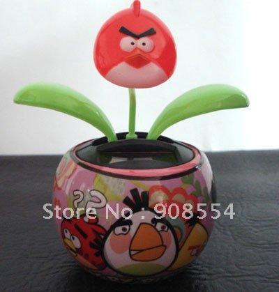 solar dancing flower 15pcs per lot Free shipping via China post air parcel(China (Mainland))