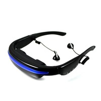 XMEN: 50inch 4GB MP4 video glasses with MP3 player, MP4, E-book, DHL free shipping!