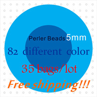 Wholesale!! 5mm Perler Beads ~ Hama Beads, Fused Beads ~ Create Just About Anything ~ 100% Quality + Free Shipping
