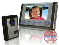 "7"" wire multicolour handfree video door phone/ taking pictures / archaize colour appearance"