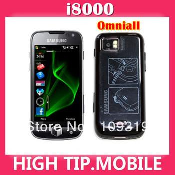 Omnia II internal 8GB Memory Samsung i8000 original unlocked GSM 3G WIFI GPS 5MP Windows Mobile 3.7 inch  Free shipping