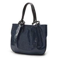 Maymay PU Leather crocodilian Handbag tote lady's bag