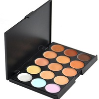 Professional 15 Colors Camouflage Concealer Makeup Palette New Free Shipping