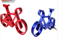 50211 Bicycle Opener aluminum colorful bottle opener key chain Multi-Opener Jars Bottles Can Opener Kitchen Tool