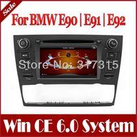 1Din Car DVD Player for BMW 3 Series E90 E91 E92 E93 325i/330i/335i with GPS Navigation Radio TV BT USB SD AUX Map Audio SatNav