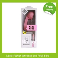 Factory Price+Free shipping+Wholesale 20pcs/lot Protable Moshi  Moshi POP Phone,Handset POP Phone for iPhoneiPhone 4S/4&iPad