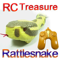 Free shipping RC Rattlesnake Remote Control Rattlesnake children toy AAA 9V Batteried Operated