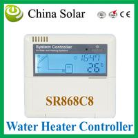 Intelligent  Split Solar Water Heater Controller anti-dry heating fctn  SR868C8 , control pump or 3-way electromagtenic valves