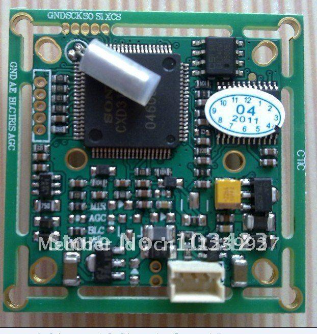 """Free Shipping orignal 1/3"""" SONY 420TVL Color  PCB Board Camera(3142+405)"""