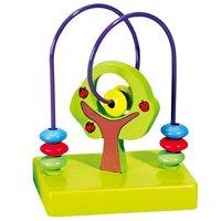 Children's Educational toys apple around beads wood plane #2074