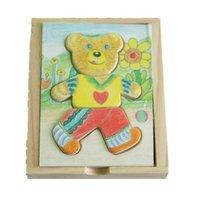 Children's educational toys 1 / S Winnie the locker fun puzzle box #2056
