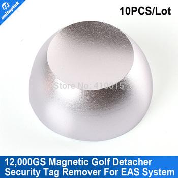 10pcs/lot Superlock magnetic security tag detacher Golf Detacher,eas tag detacher remover