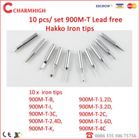 Shipping Free! wholesale 10pcs lead free Soldering Iron Tips 900M-T for hakko, aoyue,best soldering rework station, lowest price