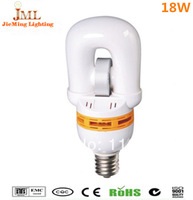 Free shipping!! 18W 23W 40W 60W compact induction light/ lamp Combination packing 10pcs/lot 2700k~6500k, 80Ra  E27/ e40