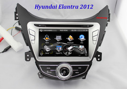 "NEW!!! 8"" Hyundai Elantra 2012 Car DVD GPS radio with MPEG-4 TV (Optional), Russian language OSD,+ Free 4G card with map !!!(China (Mainland))"