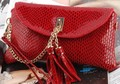 free shipping genuine leather women wallet with chain,lady real leather wallet for women,purse,hand bag,wallet
