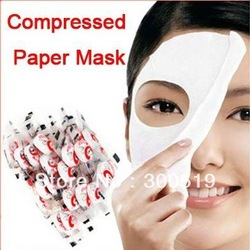 B001 Skin Face Care DIY Facial Paper Compress Masque Mask Free Shipping(China (Mainland))