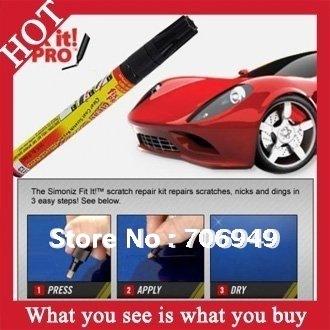 50pcs New 2014 Car Care Simon Fix It Pro Pen Clear Car Scratch Car Paint Painting Pens As Seen on TV -- MTV16